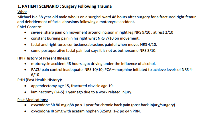 patient scenario Examples of clinical scenarios that would benefit this patient ultimately expired proposed clinical scenario with technology/workflow enhancement to prevent.