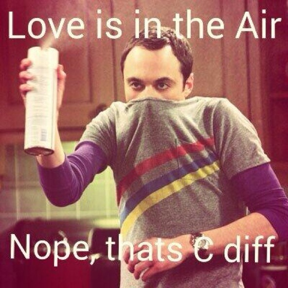 Love is in the air…